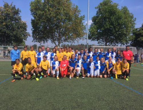 C-Junioren Trainingsspiel gegen GC-Frauen U15