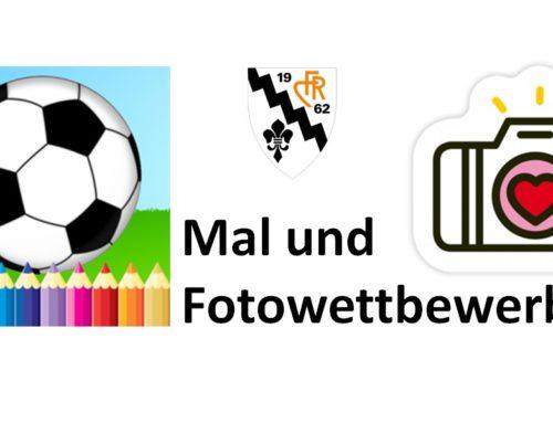 """Mal- und Fotowettbewerb """"Fuessball dihei"""""""