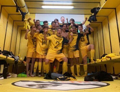 B-Junioren 1. Meisterschaftsspiel gegen den FC Töss