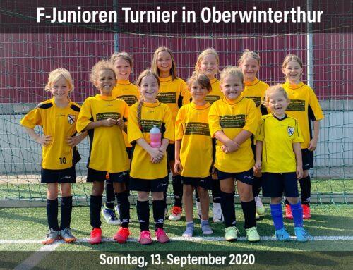 FCR Mädchen beim Turnier in Oberwinterthur
