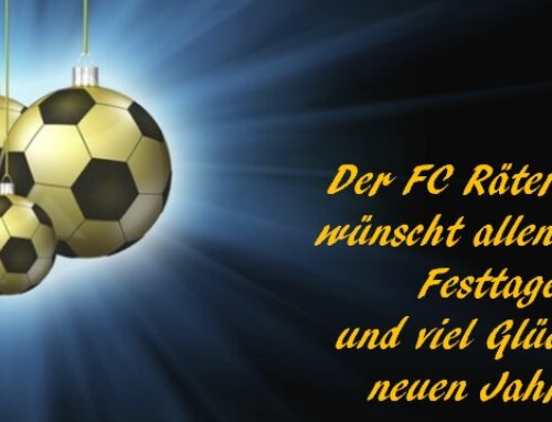 Frohe Festtage!!!