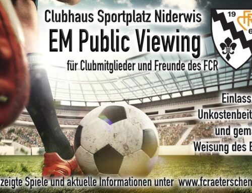 FCR Public Viewing EM 2021